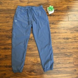 Under Armour jogger pants color gray